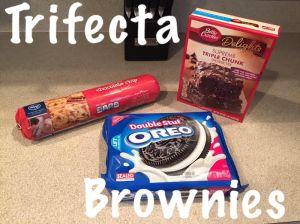 Trifecta Brownies
