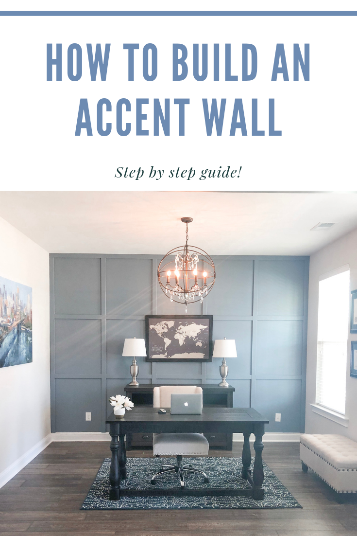 how to build an accent wall